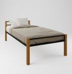 Кровать метал+дерево Z- 201